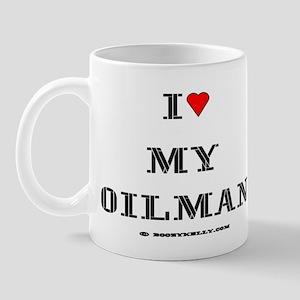 I Love My Oilman Mug
