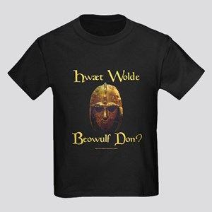 What Would Beowulf Do? Kids Dark T-Shirt