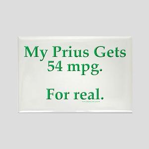 Prius 54 MPG Rectangle Magnet