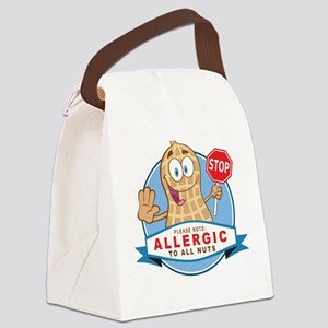 Allergic All Nuts Canvas Lunch Bag