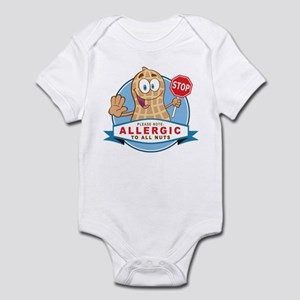 Allergic All Nuts Infant Bodysuit