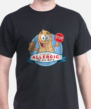 Allergic All Nuts T-Shirt