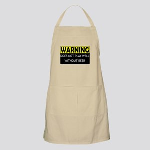 Does Not Play Well Without Be BBQ Apron