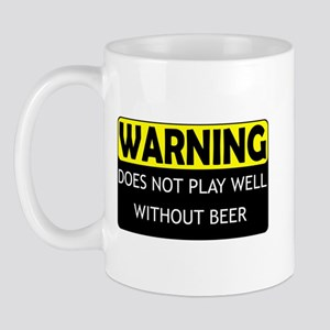 Does Not Play Well Without Be Mug