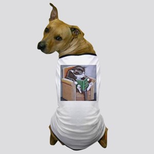 Reading Cat Dog T-Shirt