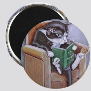 Reading Cat Magnets