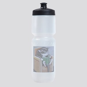 Reading Cat Sports Bottle
