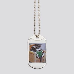 Reading Cat Dog Tags