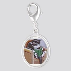 Reading Cat Charms