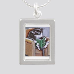 Reading Cat Necklaces