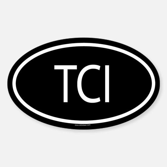 TCI Oval Decal