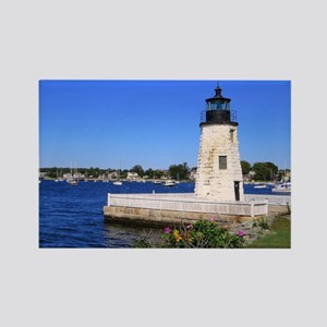 Newport Harbor Lighthouse Rhode Island Magnets