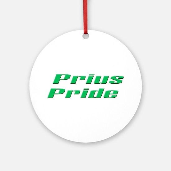 Prius Pride 2 Ornament (Round)
