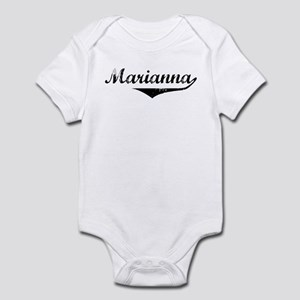 Marianna Vintage (Black) Infant Bodysuit