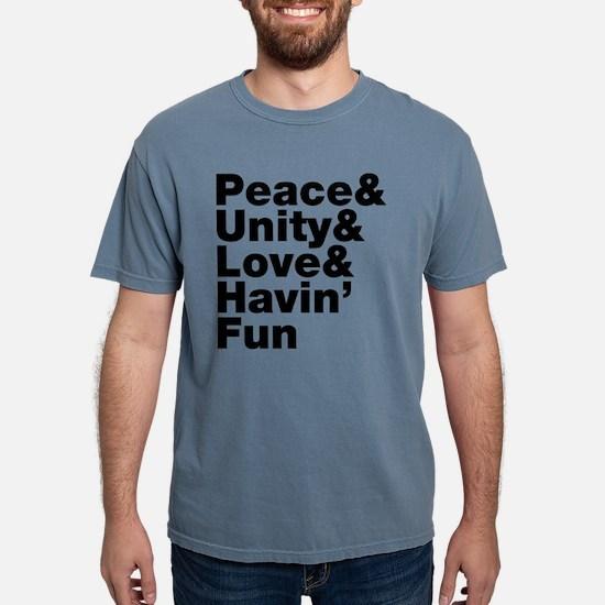 Peace & Unity & Love & Havin Fun T-Shirt