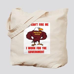 FEDERAL EMPLOYEE Tote Bag