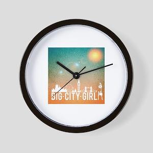 Big City Girl Wall Clock
