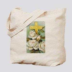 Redeemer Roses Tote Bag