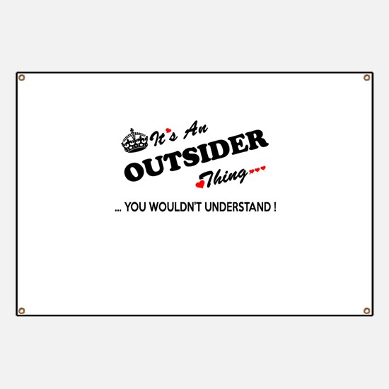 Cute Outsiders Banner