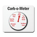 Diabetes Carb-o-Meter Mousepad