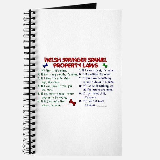 Welsh Springer Spaniel Property Laws 2 Journal