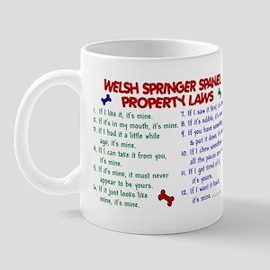 Welsh Springer Spaniel Property Laws 2 Mug