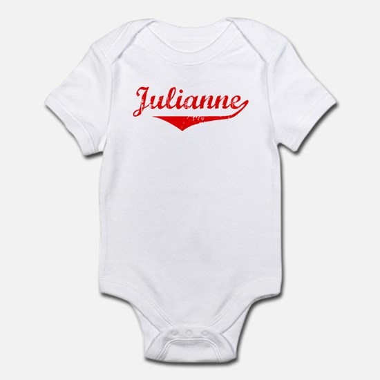 Julianne Vintage (Red) Infant Bodysuit