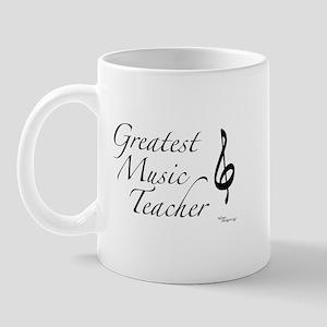 Greatest Music Teacher Mug