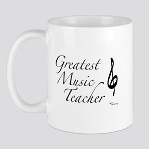 Greatest Music Teacher Mug