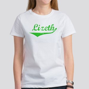 Lizeth Vintage (Green) Women's T-Shirt