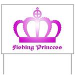Fishing Princess - 3 Yard Sign