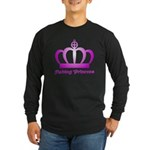 Fishing Princess - 3 Long Sleeve Dark T-Shirt