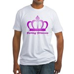 Fishing Princess - 3 Fitted T-Shirt