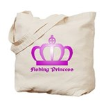 Fishing Princess - 3 Tote Bag