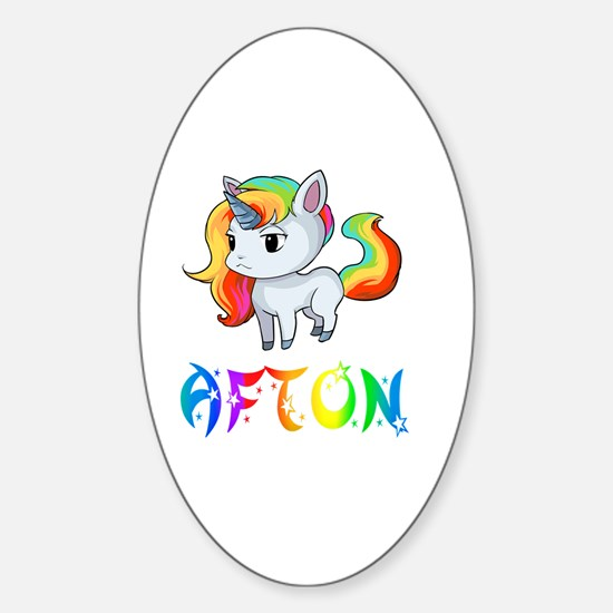 Unique Afton Sticker (Oval)