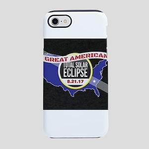 total solar eclipse 2017 iPhone 8/7 Tough Case