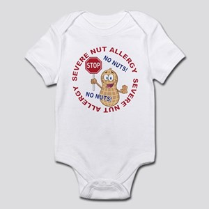 Severe Nut Allergy Infant Bodysuit