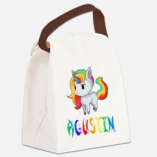 Cute Agustin Canvas Lunch Bag