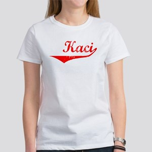 Kaci Vintage (Red) Women's T-Shirt