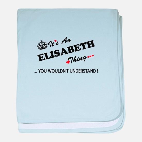 Unique Elisabeth baby blanket