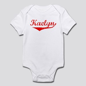 Kaelyn Vintage (Red) Infant Bodysuit