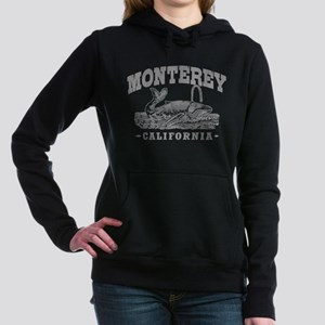 Monterey CA Women's Hooded Sweatshirt