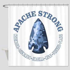 Apache Strong Shower Curtain