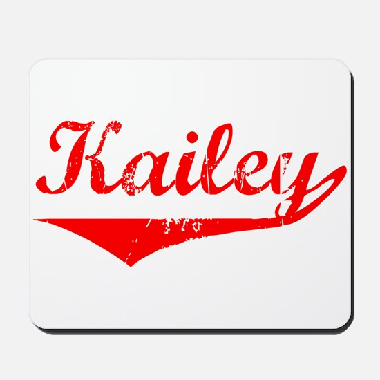 Kailey Vintage (Red) Mousepad