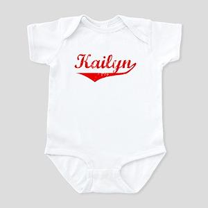 Kailyn Vintage (Red) Infant Bodysuit