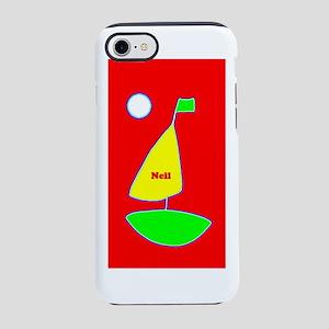 Neil Custom Red Sailing unde iPhone 8/7 Tough Case