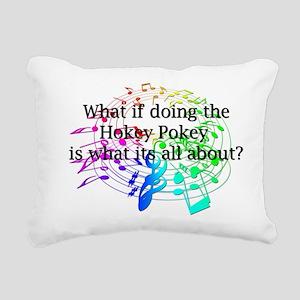 Hokey Pokey Rectangular Canvas Pillow