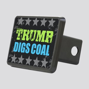 Coal Rectangular Hitch Cover
