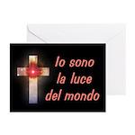 Italian Cross Greeting Cards (Pk of 10)