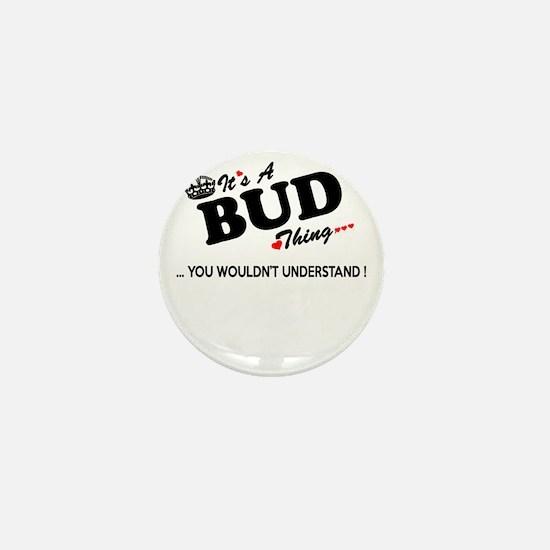 Cute Bud Mini Button